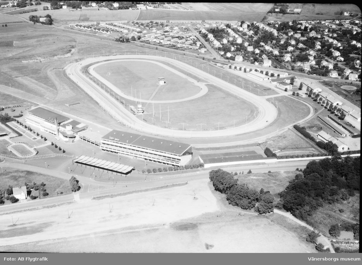 Åbyfältet i slutet av 1930.talet. Arkivbild.
