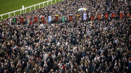 Englands största hindergaloppsevenemang, Cheltenham-meetinget, samlade under fyra dagar drygt 251 000 åskådare. Avslutningsdagen, på fredagen, uppgick åskådarantalet till närmare 69 000.