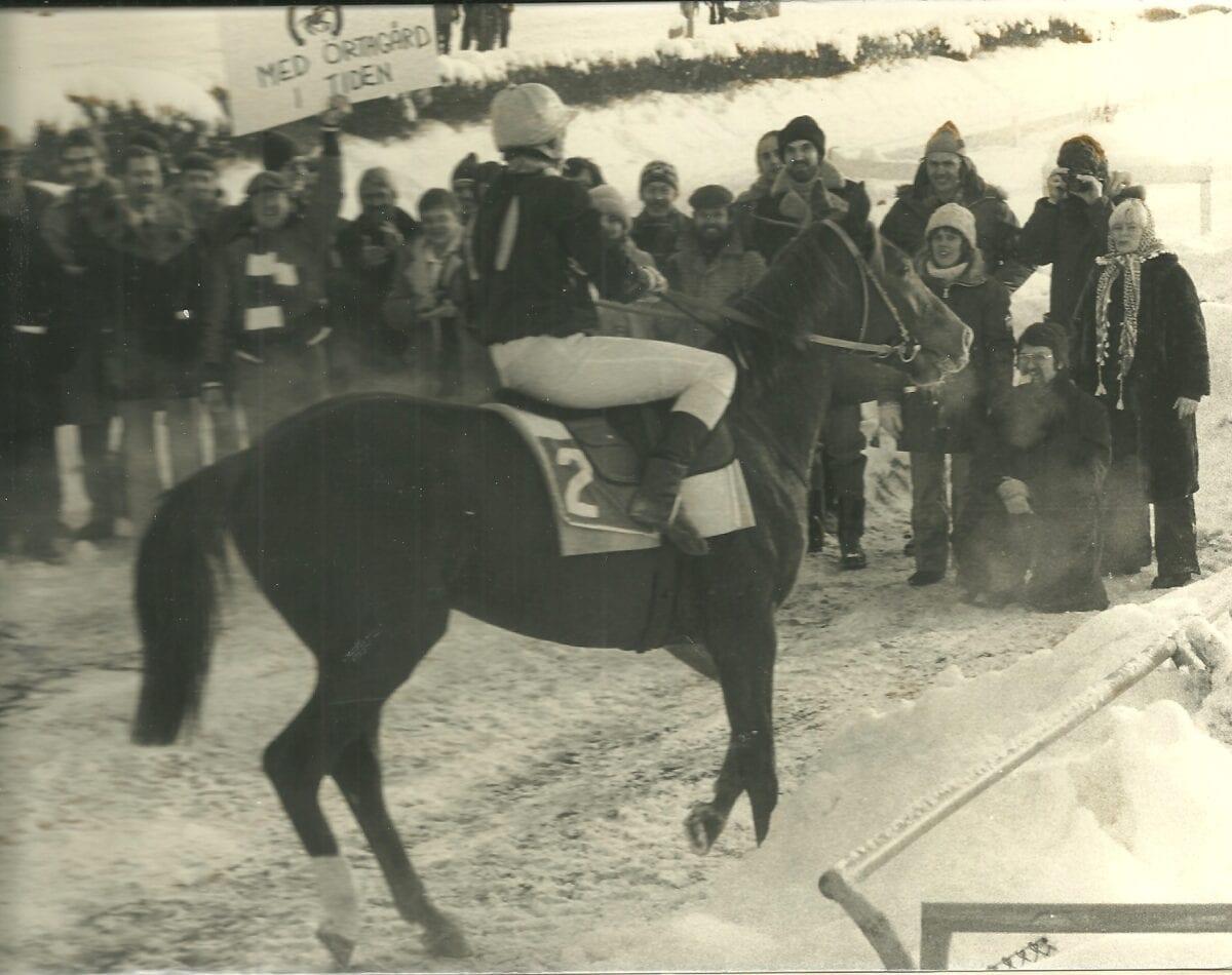 Första segern för Stall Örtagård – genom Expedit - 1979. Foto Stefan Uppström