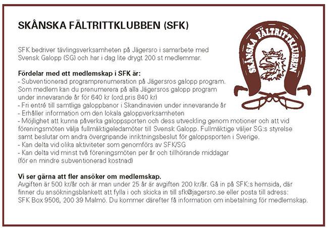 SFK Annons